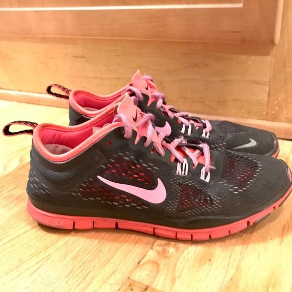 Nike Shoes | Nike Pink Black Womens